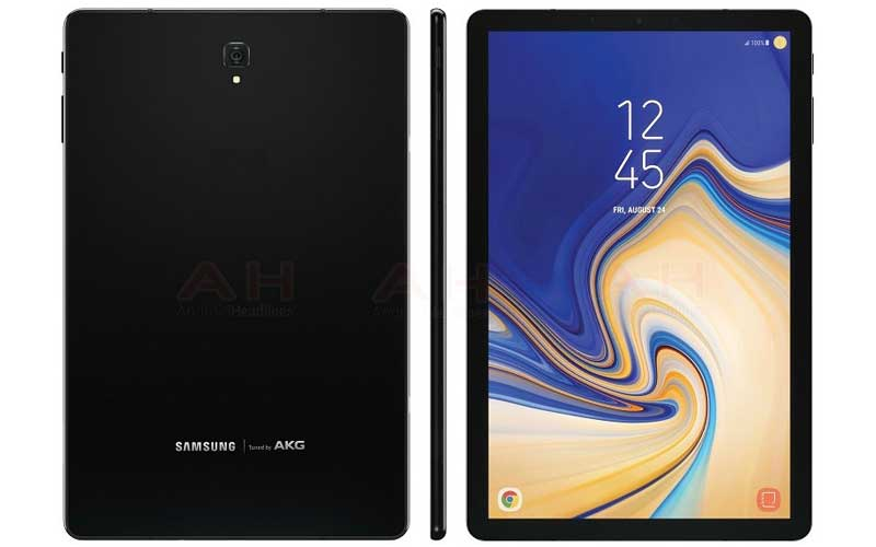 Press Render Of Samsung Galaxy Tab S4 Surfaced