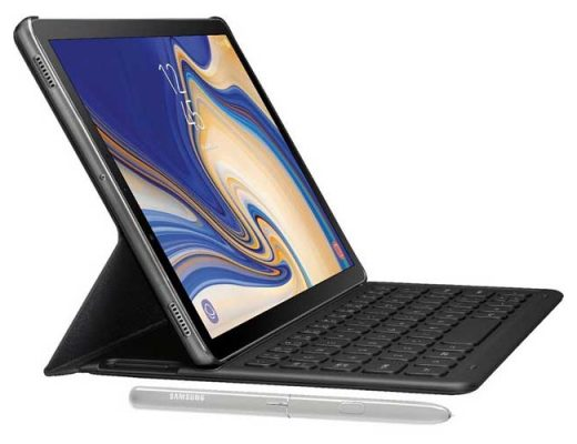 Samsung Galaxy Tab S4 Leaked Again With Keyboard And S Pen