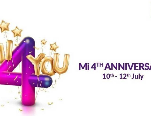 Xiaomi Announces Mi 4th Anniversary sale; Here's Everything You Need To Know