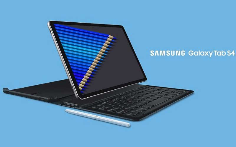 Samsung Galaxy Tab S4 Unveiled With S Pen And 7300 mAh Battery