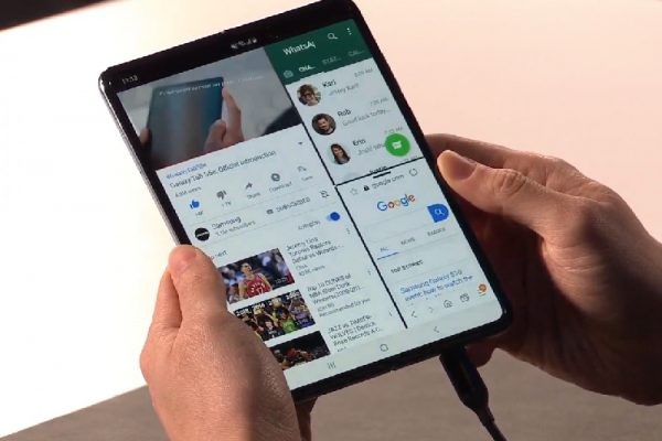 Samsung Unveiled Galaxy Fold, First Foldable Smartphone