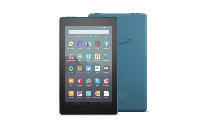 Amazon Unveils Upgraded Fire 7 Tablet