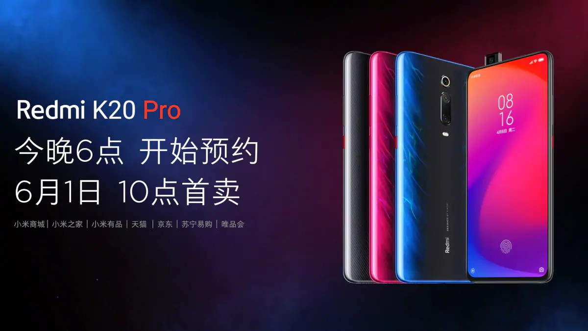 Redmi K20 And Redmi K20 Pro Goes Official
