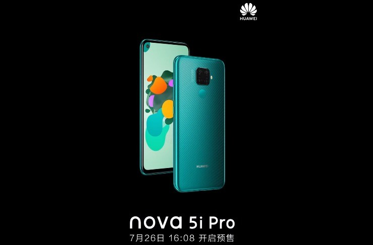 Huawei Nova 5i Pro Will Be Official On 26th July