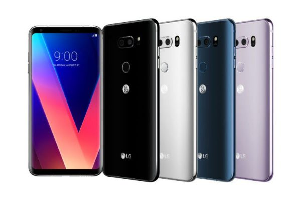 LG V30 Receives Android Pie Update