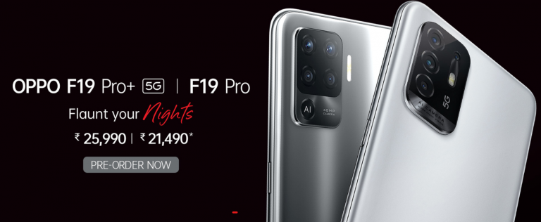Oppo F19 Pro Series With MediaTek Chipsets Launched In India