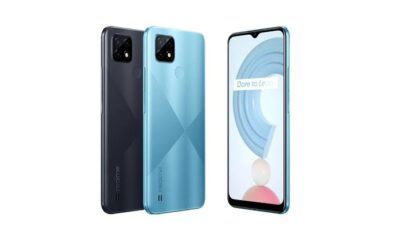 Realme C21 Unveiled With 5,000mAh Battery
