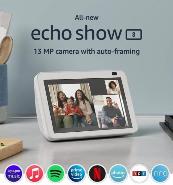 Upgraded Version Of Echo Show 8 And Echo Show 5 Launched