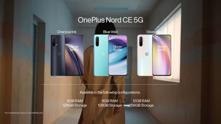 OnePlus Nord CE 5G Unveiled With 64 MP Camera