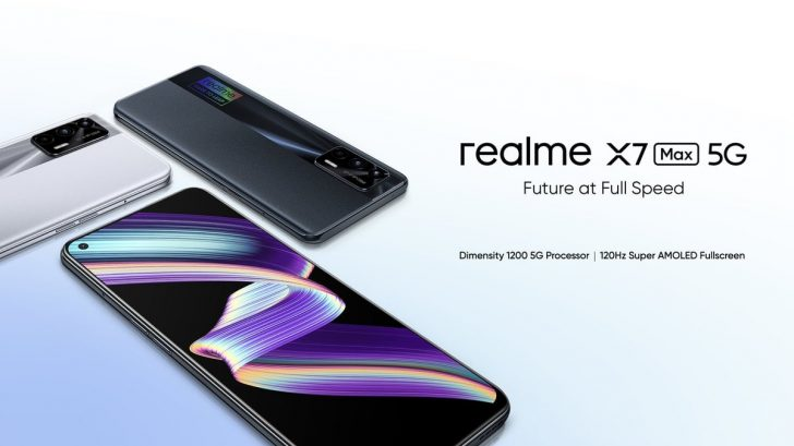Realme X7 Max 5G Unveiled With 64MP Camera