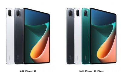 Xiaomi Debuted Mi Pad 5 & Mi Pad 5 Pro In China